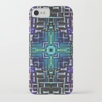 sci fi iPhone & iPod Cases featuring Sci Fi Metallic Shell by Phil Perkins