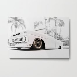 Grounded Metal Print