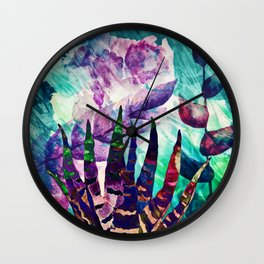 flower lm Wall Clock