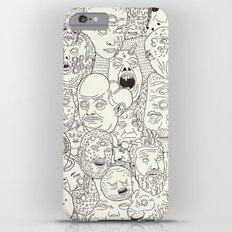 Faces of Math (no color edition)  iPhone 6s Plus Slim Case