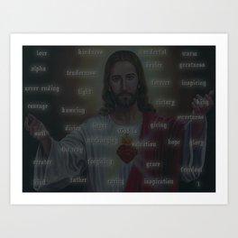 God is... Art Print