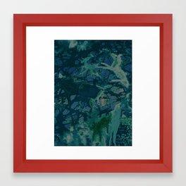 Barnyard Whirl Framed Art Print