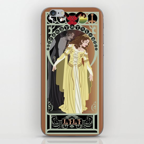 Lili Nouveau - Legend iPhone & iPod Skin