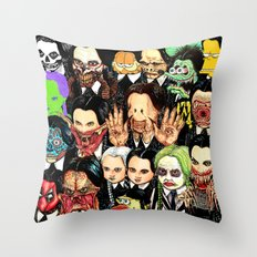 Every Wednesday Addams Throw Pillow