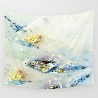 watercolour Wall Tapestries featuring Watercolour by Hipsterdirtbag