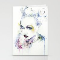 vogue Stationery Cards featuring Vogue by Chris Silver