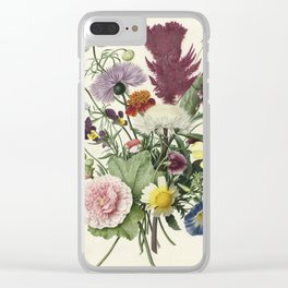 Bouquet of Flowers, Anonymous, 1680 Clear iPhone Case