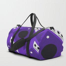 Gaming Cube Pattern Duffle Bag