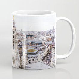City View over London from St. Paul's Cathedral 2 Coffee Mug