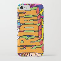 friday iPhone & iPod Cases featuring Friday by Roberlan Borges