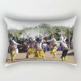 Apache Ghost Dance Rectangular Pillow