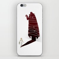 movie poster iPhone & iPod Skins featuring Dracula Movie Poster by Jason Ratliff