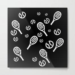 Tennis Tiempo Metal Print
