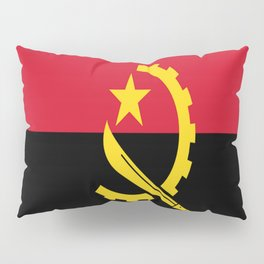 Flag Of Angola Pillow Sham