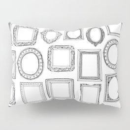 picture frames mono Pillow Sham