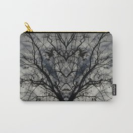 Mirrored Trees 3 Carry-All Pouch