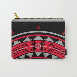 Bear Spirit (Red) Carry-All Pouch