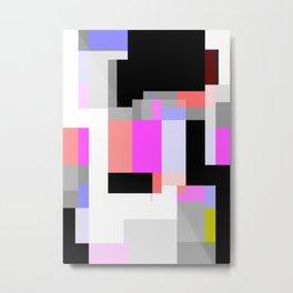 Shape 01 Metal Print