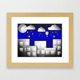 Sleep tight kiddo Framed Art Print