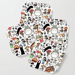 Kawaii Ghibli Doodle Coaster