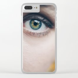 What if I am.. Clear iPhone Case