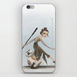 Rey & BB-8 iPhone Skin