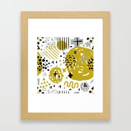 Abstract Pattern 1 Framed Art Print