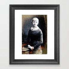 Barry's Girl Framed Art Print