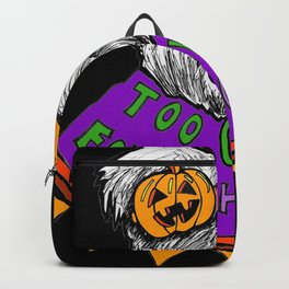 Too Ghoul for School- Purple Backpack
