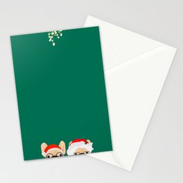 Mr And Mrs Claus II Stationery Cards
