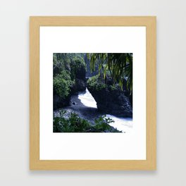 Honomaele Hana Maui Hawaii Framed Art Print