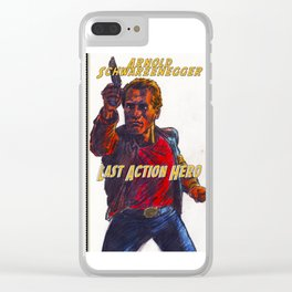 Last Action Hero Clear iPhone Case