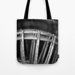 Black and White Facemasks Tote Bag