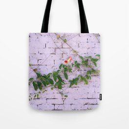 Nature finds a way Tote Bag