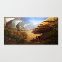 Desert Shells Canvas Print