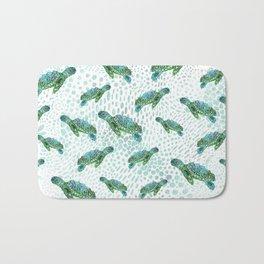 Sea Turtle Squad Bath Mat