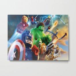super hero  , super hero  games, super hero  blanket, super hero  duvet cover,  Metal Print