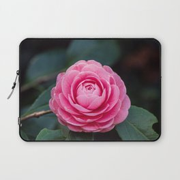 Pink Perfection Camellia Japonica Spring Bloom Laptop Sleeve