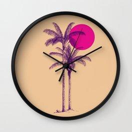 palm dream Wall Clock
