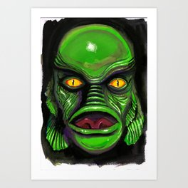 Creature Feature Art Print