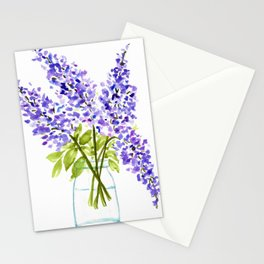 Lilacs in Jar Stationery Cards