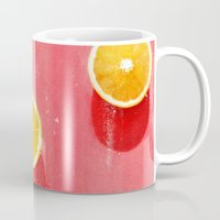 fruit Mugs featuring fruit 5 by LEEMO