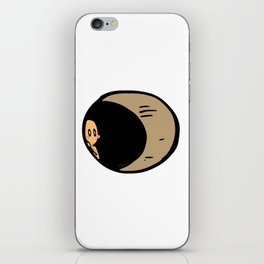 Hole in a wall iPhone Skin