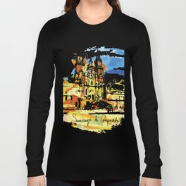 santiago  camino Long Sleeve T-shirt