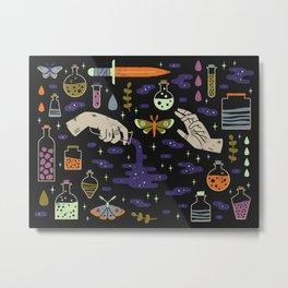 Spooky Horoscopes: Aquarius Metal Print