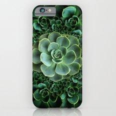 ORNATE JADE & DARK GREEN SUCCULENT  GARDEN iPhone 6s Slim Case