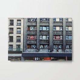 Just a Wall Metal Print