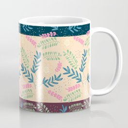 Floral Pattern- Namaste Monday Coffee Mug