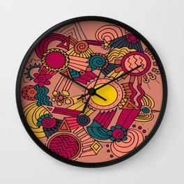 The Earthly Environment Wall Clock