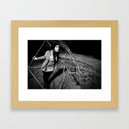 No rain Framed Art Print